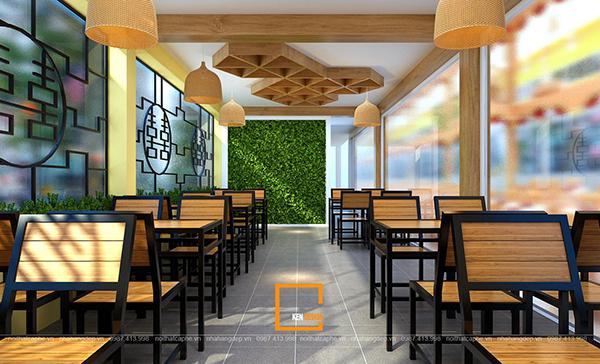 su ket hop doc la giua khong gian ca phe va thiet ke nha hang thai olan tai vinh phuc 3 1 - Thiết kế nhà hàng Thái Lan A Hản Thay cơ sở 2 tại Hà Nội