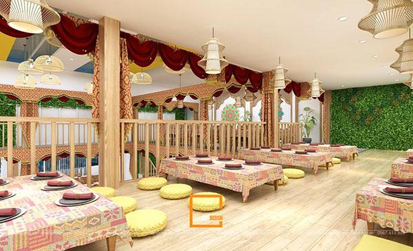 su ket hop doc la giua khong gian ca phe va thiet ke nha hang thai olan tai vinh phuc 5 - Thiết kế nhà hàng Thái Lan A Hản Thay cơ sở 2 tại Hà Nội