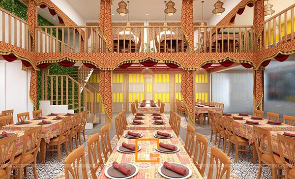 su ket hop doc la giua khong gian ca phe va thiet ke nha hang thai olan tai vinh phuc 6 - Thiết kế nhà hàng Thái Lan A Hản Thay cơ sở 2 tại Hà Nội