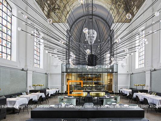 the jane tu nha hang tho cu ky tro thanh mot khong gian nha hang hien dai 3 533x400 - The Jane - Từ nhà thờ cũ kỹ trở thành thiết kế nhà hàng hiện đại