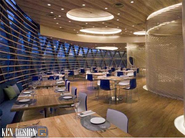 thiet ke nha hang khach san dep va an tuong 3 - Thiết kế nhà hàng khách sạn đẹp và ấn tượng