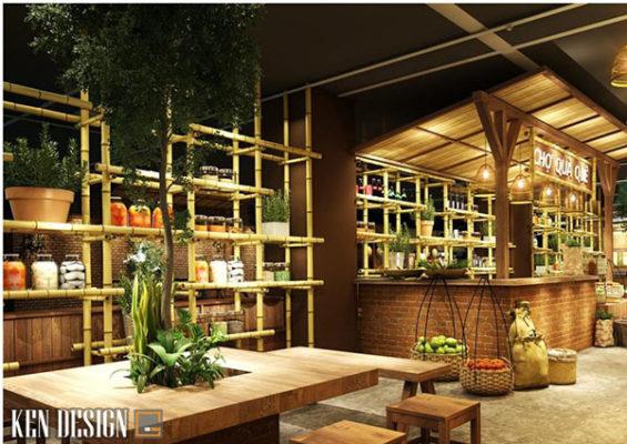 thiet ke nha hang truyen thong phong cach viet hieu qua 5 565x400 - Thiết kế nhà hàng truyền thống phong cách Việt hiệu quả