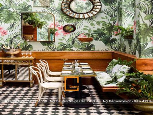 thiet ke noi that nha hang phong cach tropical don gian hay phuc tap 4 533x400 - Thiết kế nội thất nhà hàng phong cách Tropical, đơn giản hay phức tạp?