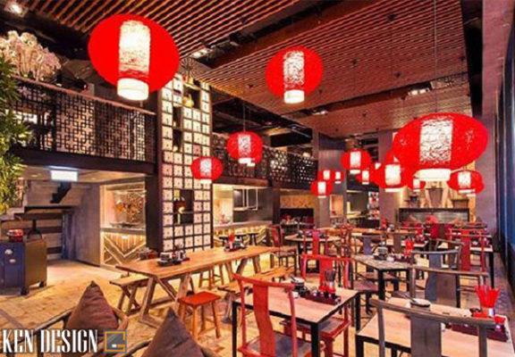 tieu chuan thiet ke nha hang trung hoa thu hut 7 576x400 - Tiêu chuẩn thiết kế nhà hàng Trung Hoa thu hút