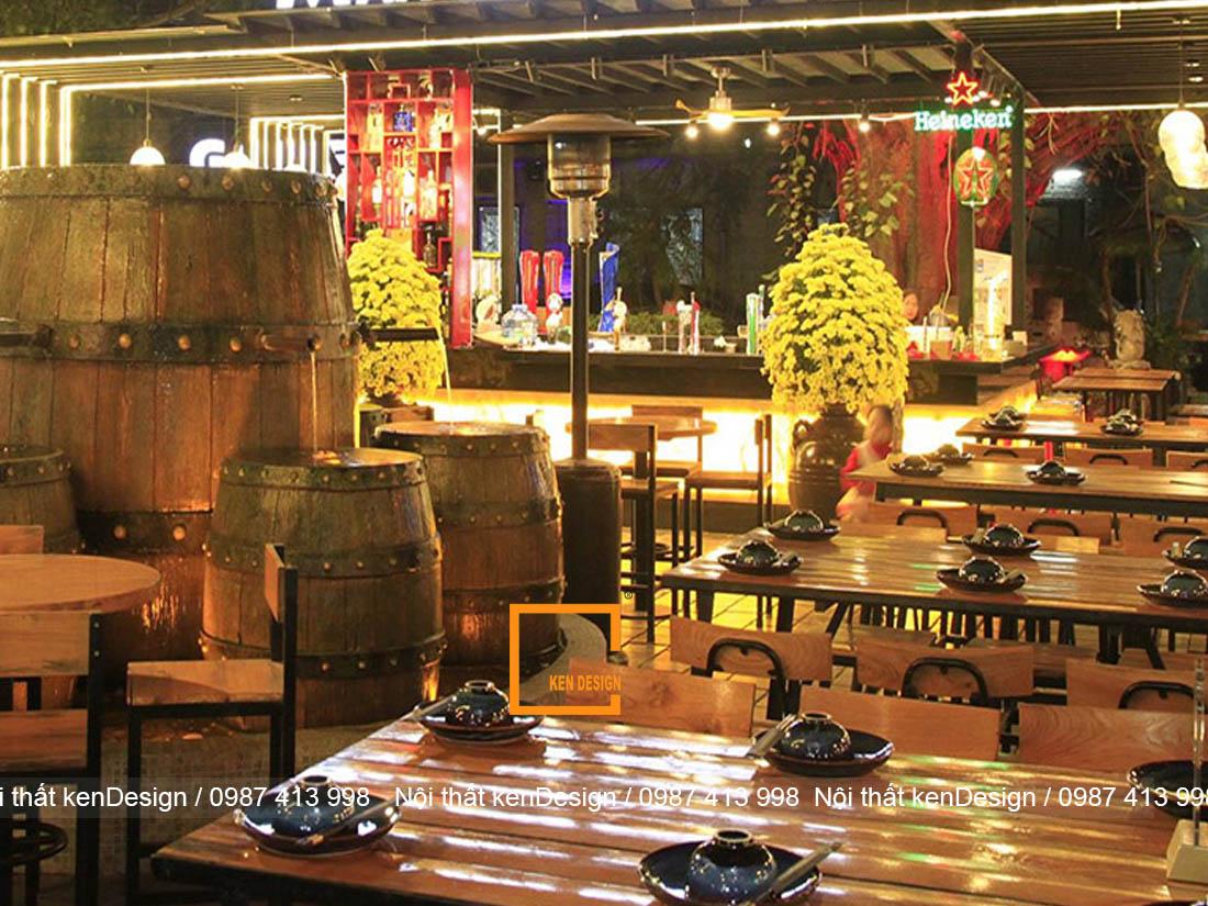 tieu chuan thiet ke quan bia dep va khao học 1 - Tiêu chuẩn thiết kế quán bia đẹp và khoa học