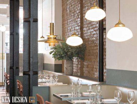 trang tri nha hang don gian nhu the nao la hop ly 1 525x400 - Trang trí thiết kế nhà hàng đơn giản như thế nào là hợp lý?
