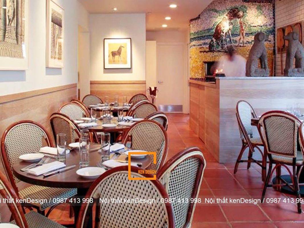 3 cach thiet ke nha hang don gian dam bao tham my 2 1067x800 - 3 Cách thiết kế nội thất nhà hàng đơn giản đảm bảo thẩm mỹ