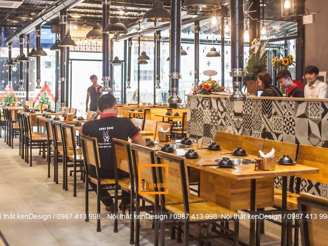 3 tieu chi thiet ke nha hang lau nuong khong khoi hieu qua 3 - 3 tiêu chí thiết kế nhà hàng lẩu nướng không khói hiệu quả