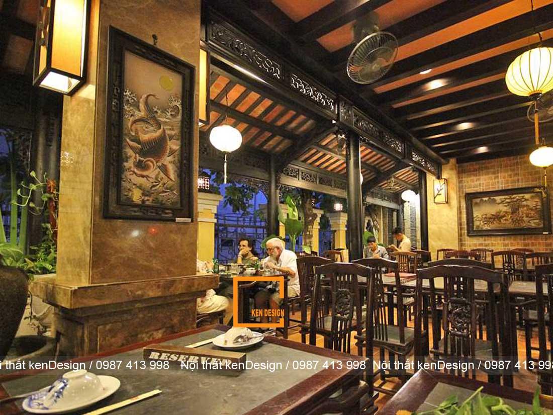 4 mau thiet ke nha hang truyen thong noi bat nhat hien nay 1 - 4 Mẫu thiết kế nhà hàng truyền thống nổi bật nhất hiện nay