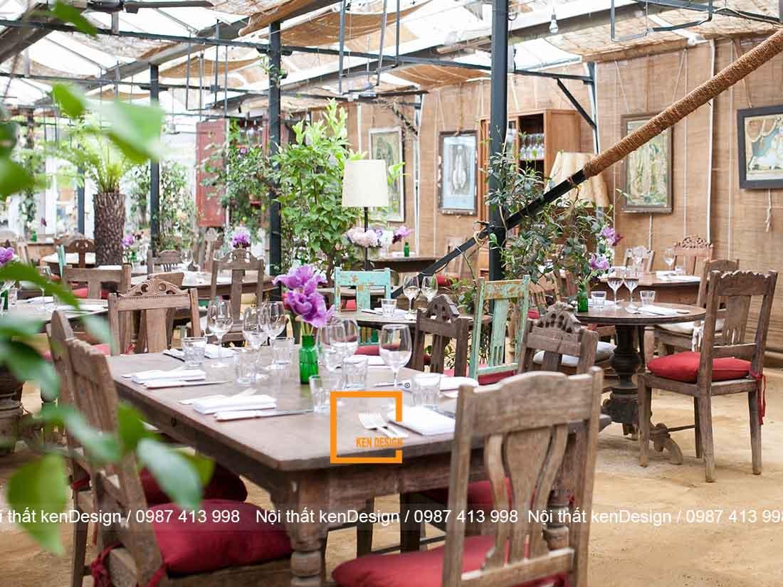 bi quyet thiet ke quan an san vuon hieu qua 2 - Bí quyết thiết kế quán ăn sân vườn hiệu quả
