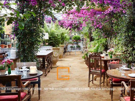 bi quyet thiet ke quan an san vuon hieu qua 3 533x400 - Bí quyết thiết kế quán ăn sân vườn hiệu quả