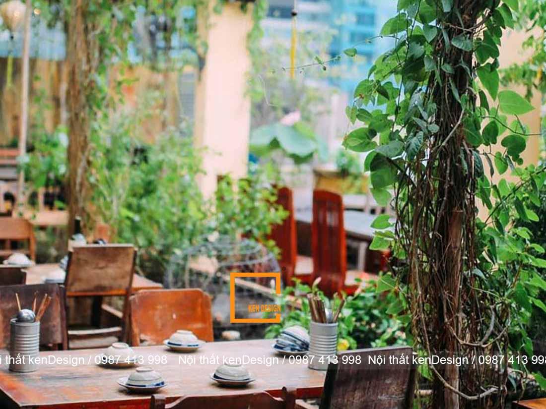 bi quyet thiet ke quan an san vuon hieu qua 5 - Bí quyết thiết kế quán ăn sân vườn hiệu quả