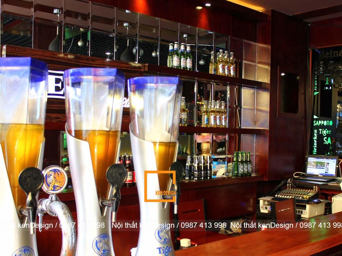 bi quyet thiet ke quan bia dep thu hut khach hang 5 - Bí quyết thiết kế quán bia đẹp thu hút khách hàng