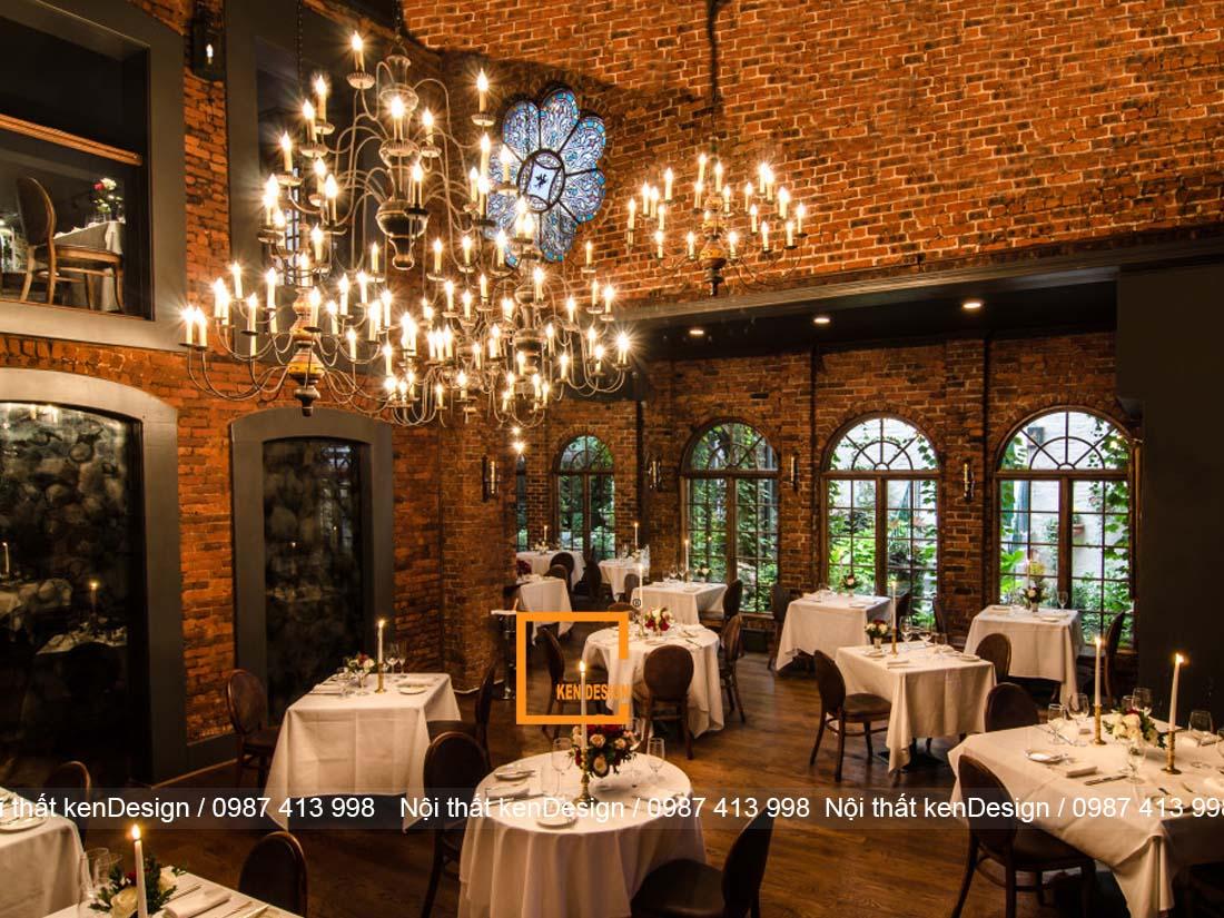 bi quyet thiet ke thi cong noi that nha hang hieu qua 3 - Bí quyết thiết kế thi công nội thất nhà hàng hiệu quả