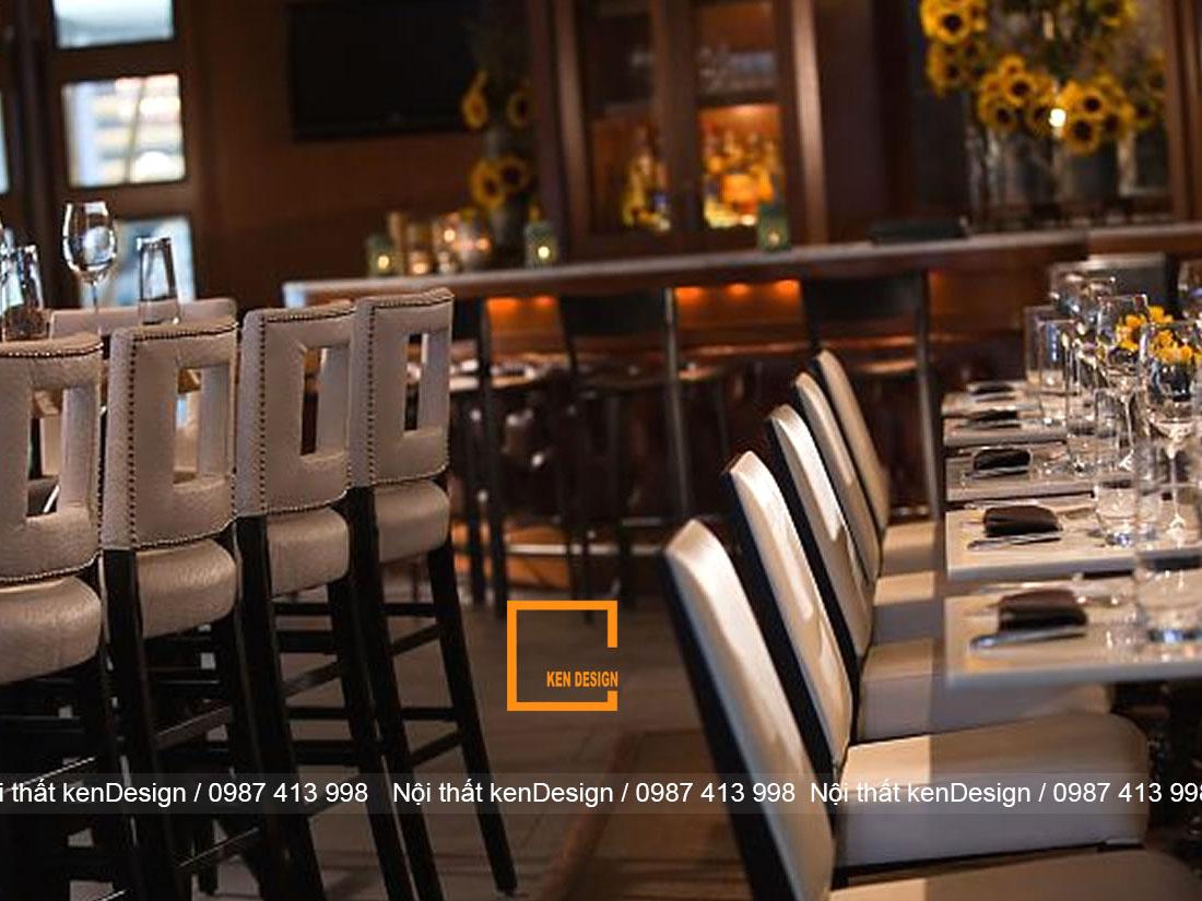 bi quyet thiet ke thi cong noi that nha hang hieu qua 4 - Bí quyết thiết kế thi công nội thất nhà hàng hiệu quả
