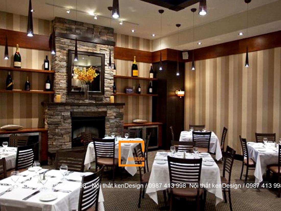 bi quyet thiet ke thi cong noi that nha hang hieu qua 5 1 - Bí quyết thiết kế thi công nội thất nhà hàng hiệu quả