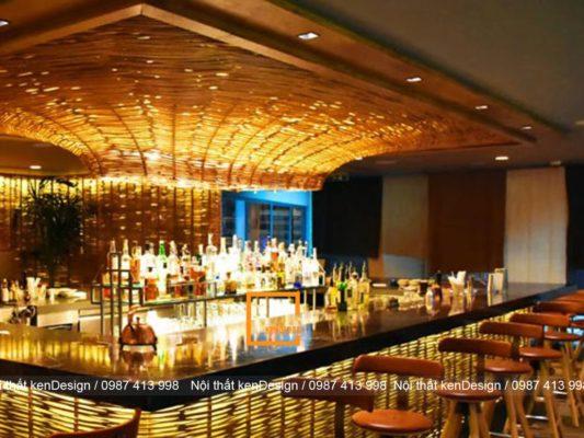 cac mau thiet ke quay bar nha hang pho bien hien nay 1 533x400 - Các mẫu thiết kế quầy bar nhà hàng phổ biến hiện nay
