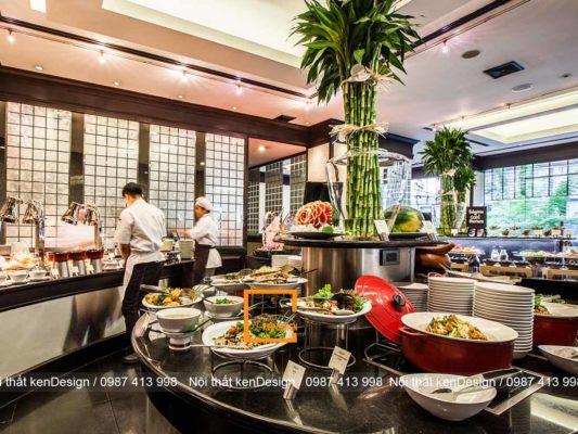 cach thiet ke noi that nha hang buffet dung tieu chuan 5 533x400 - Cách thiết kế nội thất nhà hàng buffet đúng tiêu chuẩn