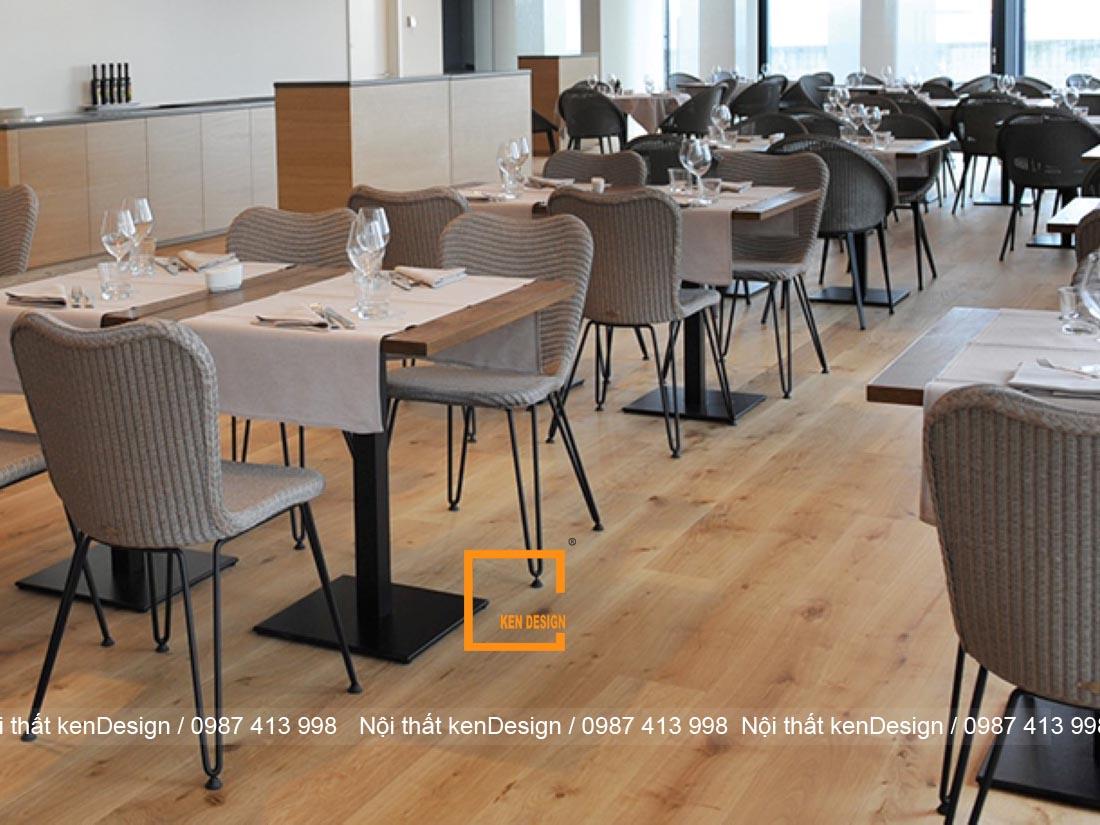 diem danh cach trang tri thiet ke san nha hang noi bat 1 - Điểm danh cách trang trí thiết kế sàn nhà hàng nổi bật