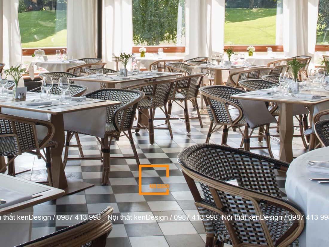 diem danh cach trang tri thiet ke san nha hang noi bat 2 - Điểm danh cách trang trí thiết kế sàn nhà hàng nổi bật
