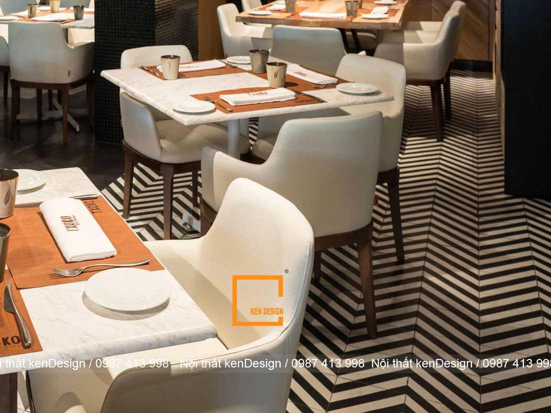 diem danh cach trang tri thiet ke san nha hang noi bat 4 - Điểm danh cách trang trí thiết kế sàn nhà hàng nổi bật