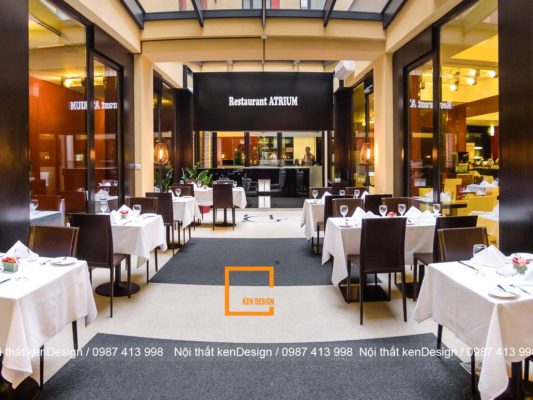 hoc lom bi kip thiet ke nha hang dep cua cac kien truc su 5 533x400 - Học lỏm bí kíp thiết kế nhà hàng đẹp của các kiến trúc sư Ken Design