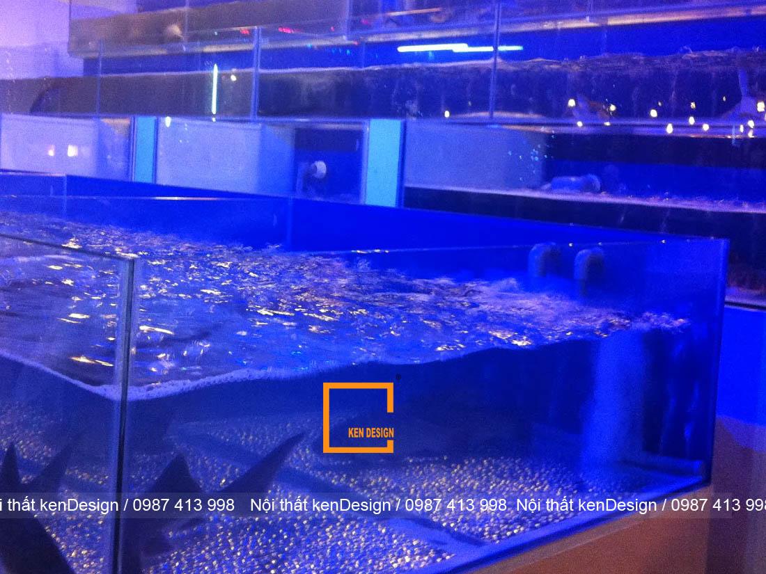 huong dan cach thiet ke be ca nha hang chuan kich thuoc 3 - Hướng dẫn cách thiết kế bể cá nhà hàng chuẩn kích thước