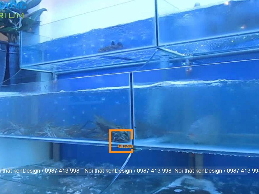 huong dan cach thiet ke be ca nha hang chuan kich thuoc 4 - Hướng dẫn cách thiết kế bể cá nhà hàng chuẩn kích thước
