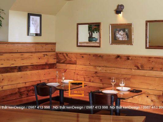 khi thiet ke nha hang bang go can luu y dieu gi 6 533x400 - Khi thiết kế nhà hàng bằng gỗ cần lưu ý điều gì?