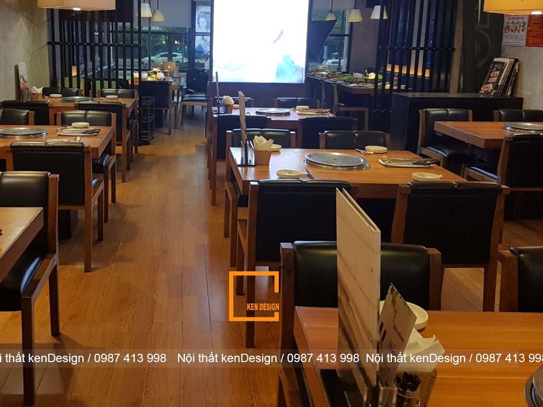 kinh nghim thi cong nha hang lau nuong han che ve dien tich 2 - Kinh nghiệm thi công nhà hàng lẩu nướng hạn chế về diện tích