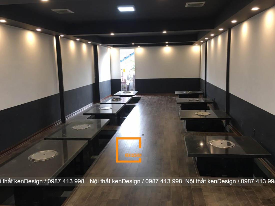 kinh nghim thi cong nha hang lau nuong han che ve dien tich 3 - Kinh nghiệm thi công nhà hàng lẩu nướng hạn chế về diện tích