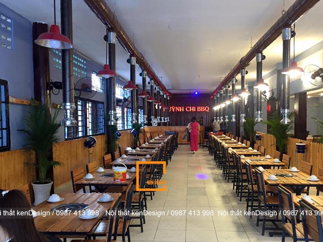 kinh nghim thi cong nha hang lau nuong han che ve dien tich 4 - Kinh nghiệm thi công nhà hàng lẩu nướng hạn chế về diện tích