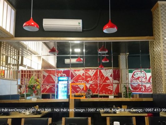 kinh nghim thi cong nha hang lau nuong han che ve dien tich 5 533x400 - Kinh nghiệm thi công nhà hàng lẩu nướng hạn chế về diện tích