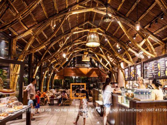lam sao de lam noi bat net dac trung trong thiet ke nha hang bang tre 5 533x400 - Làm sao để làm nổi bật nét đặc trưng trong thiết kế nhà hàng bằng tre