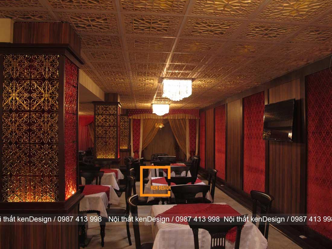 nguyen ly thiet ke nha hang truyen thong dep an tuong 5 - Nguyên lý thiết kế nhà hàng truyền thống đẹp, ấn tượng