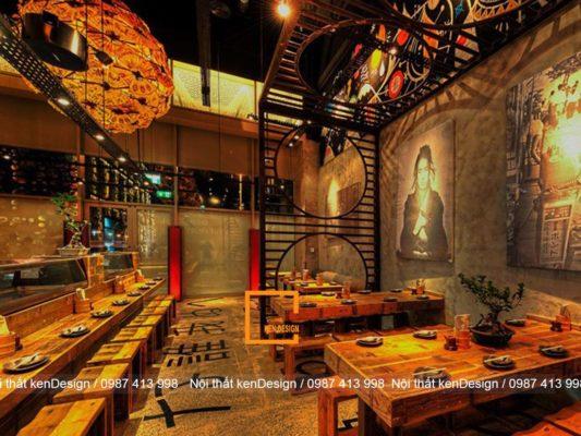 nguyen tac thiet ke nha hang nhat chuan phong cach 1 533x400 - Nguyên tắc thiết kế nhà hàng kiểu Nhật chuẩn phong cách