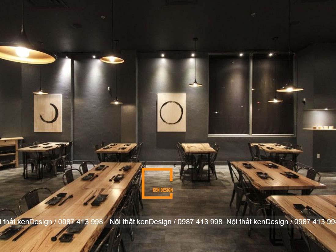 nguyen tac thiet ke nha hang nhat chuan phong cach 3 - Nguyên tắc thiết kế nhà hàng kiểu Nhật chuẩn phong cách