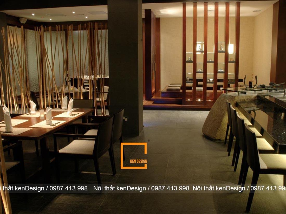 nguyen tac thiet ke nha hang nhat chuan phong cach 4 - Nguyên tắc thiết kế nhà hàng kiểu Nhật chuẩn phong cách