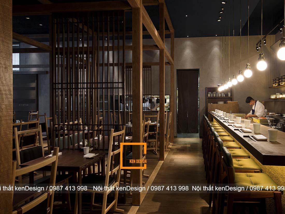 nguyen tac thiet ke nha hang nhat chuan phong cach 5 - Nguyên tắc thiết kế nhà hàng kiểu Nhật chuẩn phong cách