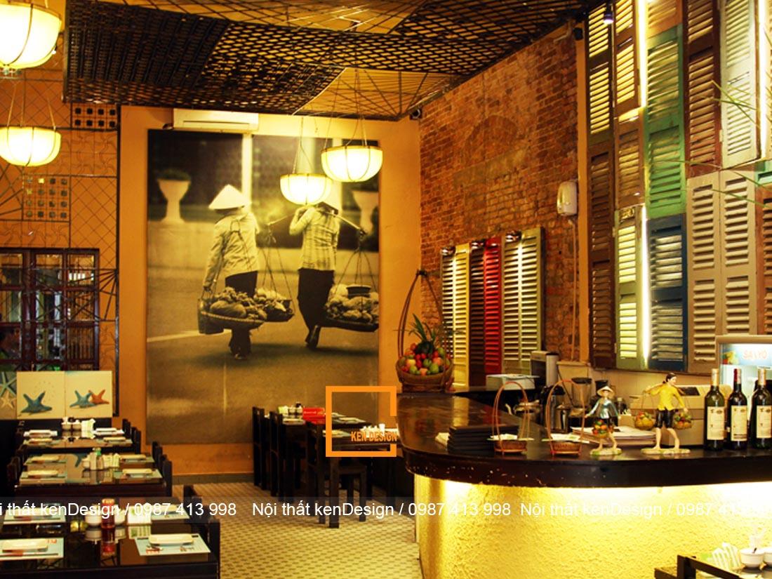 nhung kinh nghiem khi thi cong nha hang truyen thong 2 - Những kinh nghiệm khi thi công nhà hàng truyền thống