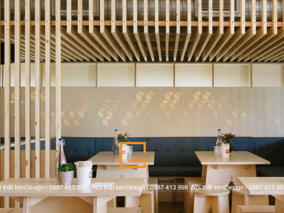 nhung luu y khi lua chon nguyen vat lieu cho noi that nha hang 4 - Những lưu ý khi lựa chọn nguyên vật liệu thiết kế nội thất nhà hàng