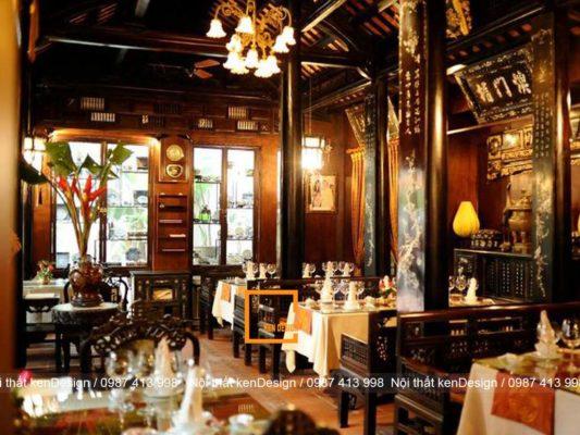 nhung mau thiet ke nha hang truyen thong viet dep tu nam ra bac 2 533x400 - Những thiết kế nhà hàng truyền thống phong cách Việt đẹp từ Nam ra Bắc