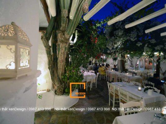 nhung net dac trung trong thiet ke nha hang san vuon 5 533x400 - Những nét đăc trưng trong thiết kế nhà hàng sân vườn