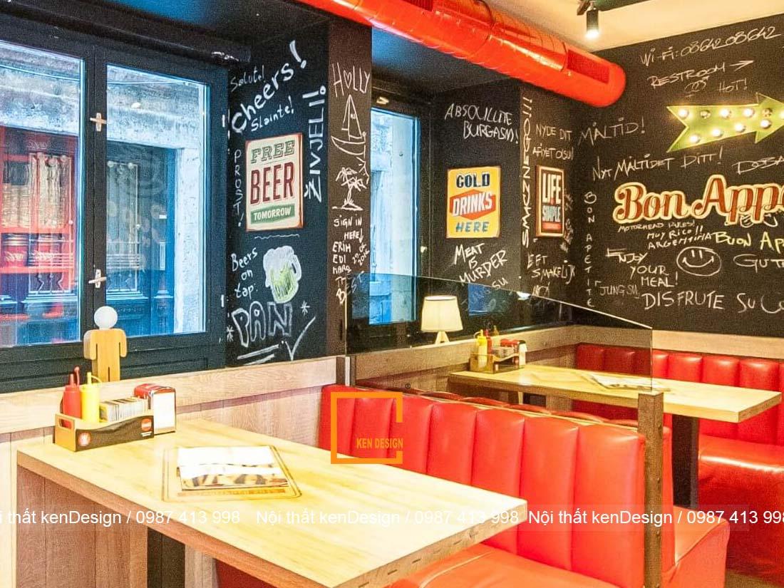 thiet ke nha hang an nhanh 1 - Thiết kế nhà hàng ăn nhanh - Lợi nhuận khổng lồ tại các thành phố lớn