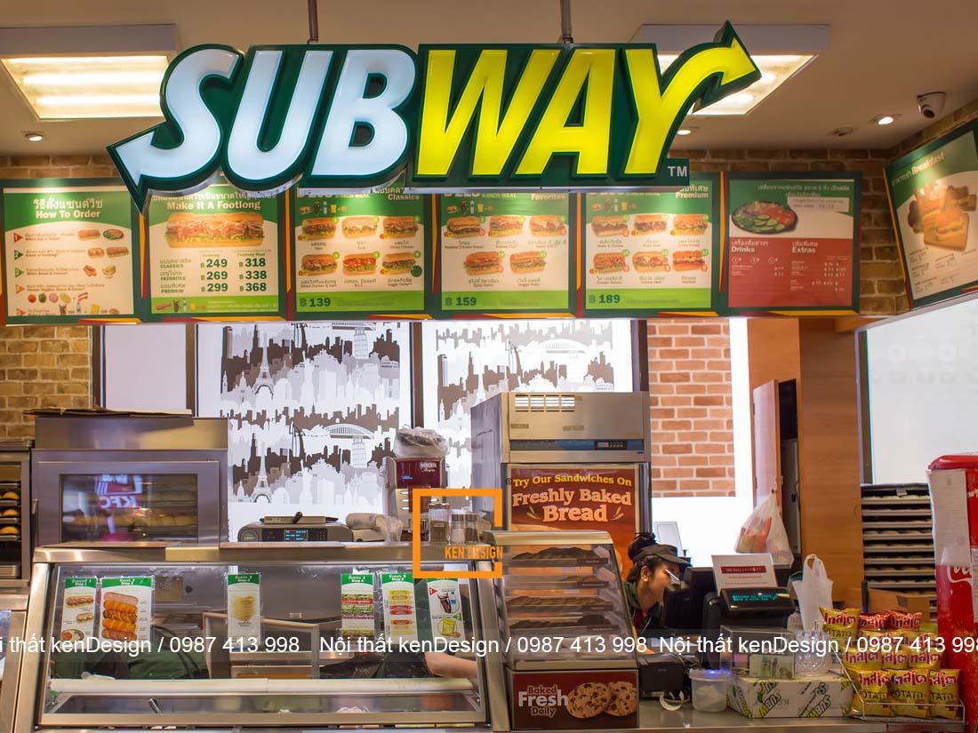 thiet ke nha hang an nhanh 2 - Thiết kế nhà hàng ăn nhanh - Lợi nhuận khổng lồ tại các thành phố lớn