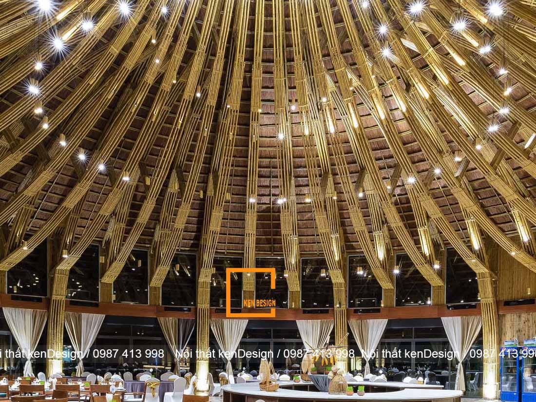thiet ke nha hang bang tre khong gian nah hang an tuong va noi bat 3 - Thiết kế nhà hàng bằng tre - Không gian nhà hàng ấn tượng và nổi bật