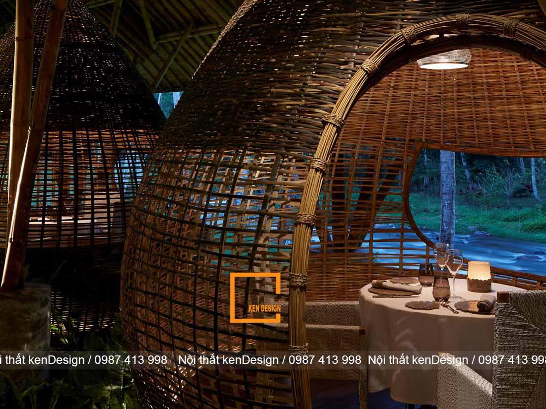 thiet ke nha hang bang tre khong gian nah hang an tuong va noi bat 5 - Thiết kế nhà hàng bằng tre - Không gian nhà hàng ấn tượng và nổi bật