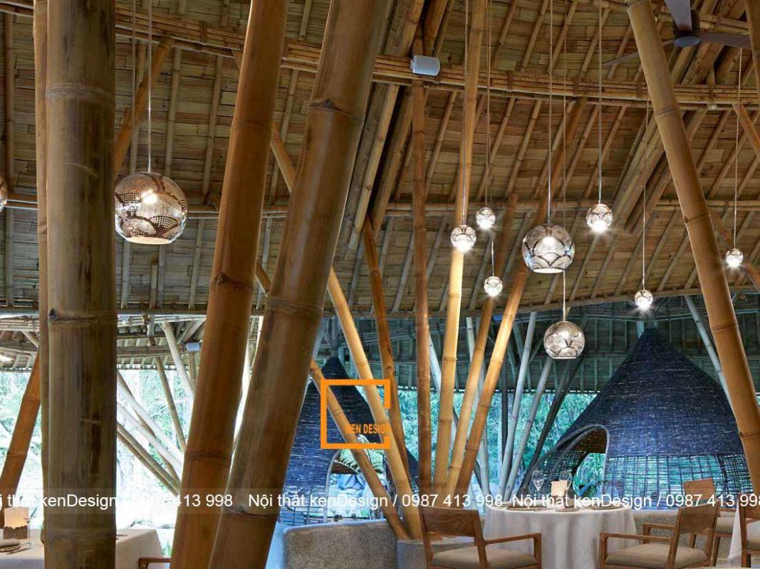 thiet ke nha hang bang tre khong gian nah hang an tuong va noi bat 6 1067x800 - Thiết kế nhà hàng bằng tre - Không gian nhà hàng ấn tượng và nổi bật