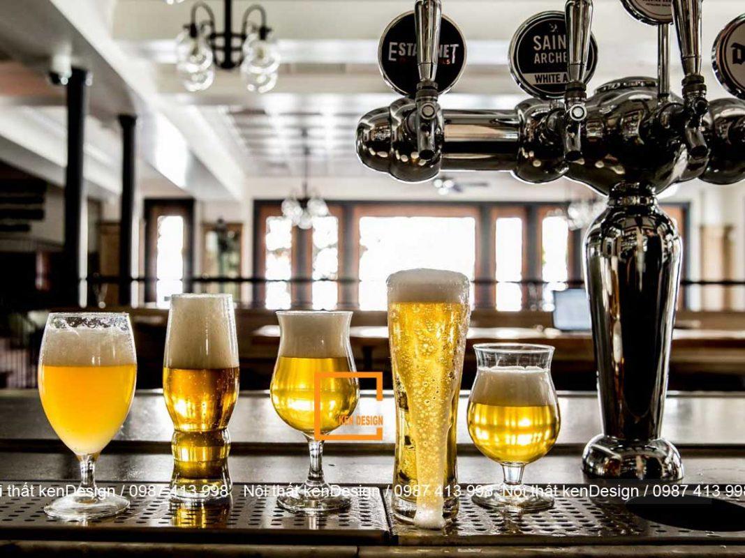 thiet ke nha hang bia phong cach binh dan 3 1067x800 - Thiết kế nhà hàng bia phong cách bình dân