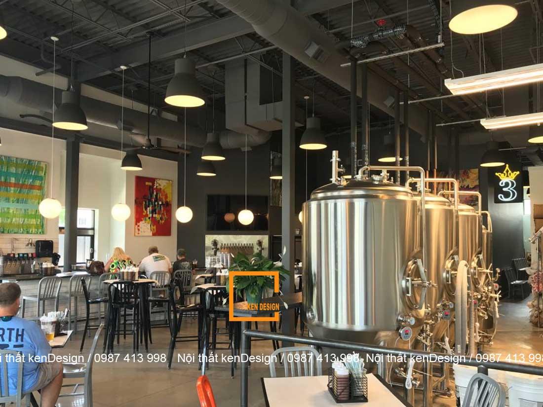 thiet ke nha hang bia phong cach binh dan 6 - Thiết kế nhà hàng bia phong cách bình dân